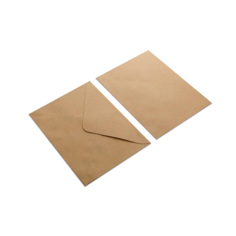 Kraft envelop