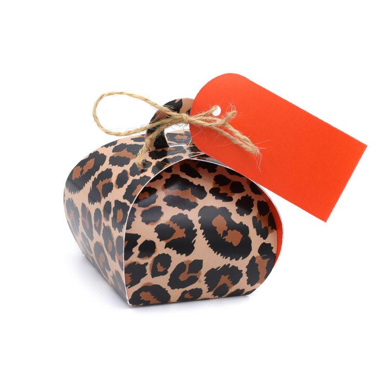 Geschenkverpakking (klein) (10 stuks) - Cheetah